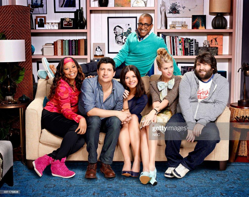 Tymberlee Hill as Kay, Ken Marino as Jake, Casey Wilson as Annie, Tim Meadows as Kevin, Sarah Wright as Dennah, John Gemberling as Gil --