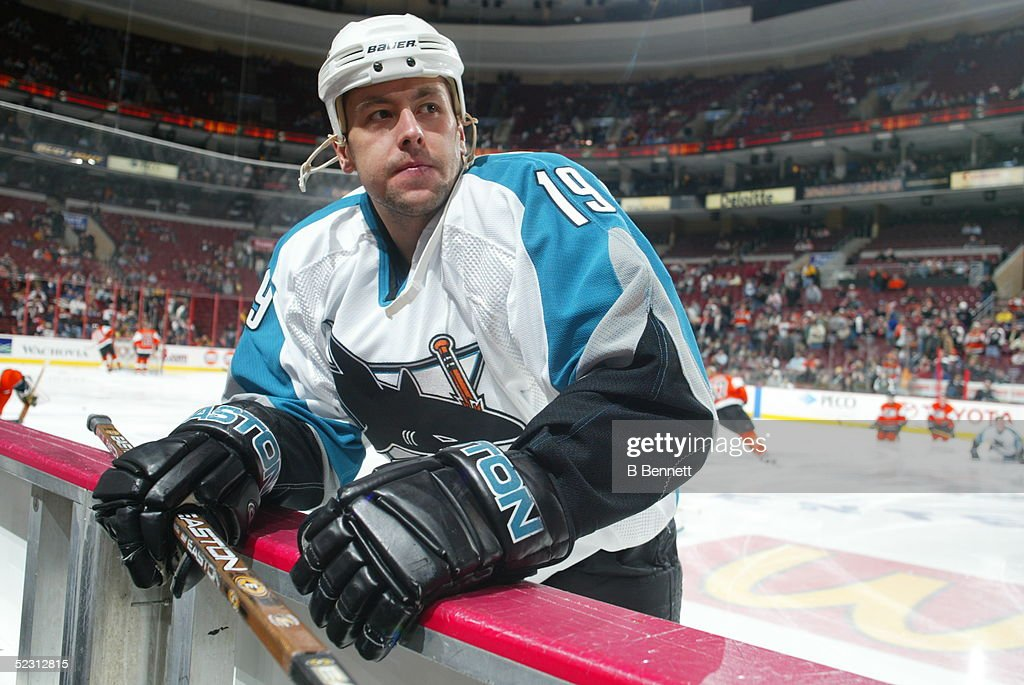 Player Marco Sturm of the San Jose Sharks