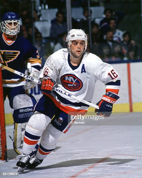 Player Pat Lafontaine And Player Pat Lafontaine