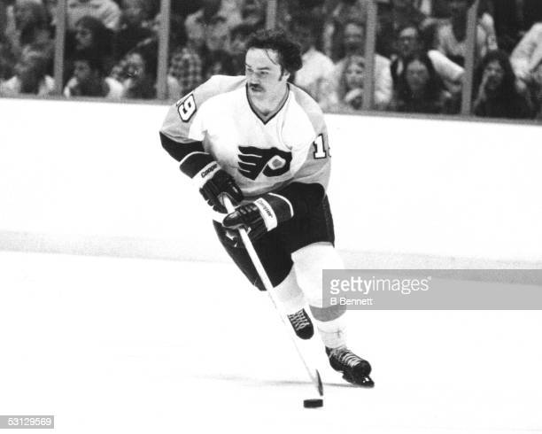 Player Rick Macleish of the Philadelphia Flyers And Player Rick Macleish