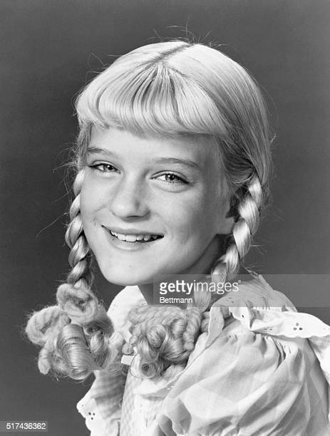 Season Premier Susan Olsen stars as Cindy the youngest daughter on the ABC Television Network's The Brady Bunch Fridays Subject Susan Olsen Program...