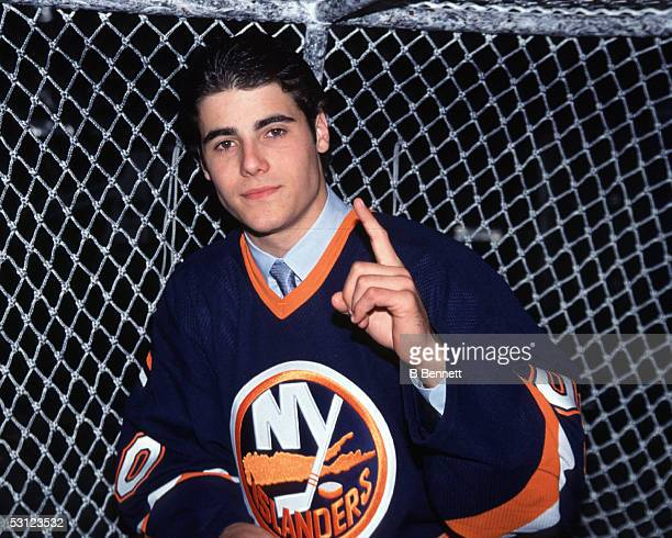 Rick DiPietro Number one pick of the 2000 Draft by the NY Islanders
