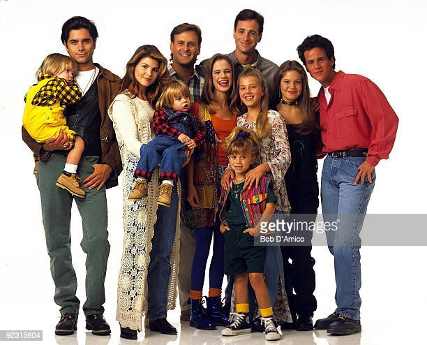 HOUSE Season Seven Gallery 9/14/93 Pictured from left Dylan TuomyWilhoit John Stamos Lori Loughlin Blake TuomyWilhoit Dave Coulier Andrea Barber...
