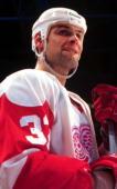 Stu Grimson Of the Dertoit Red Wings