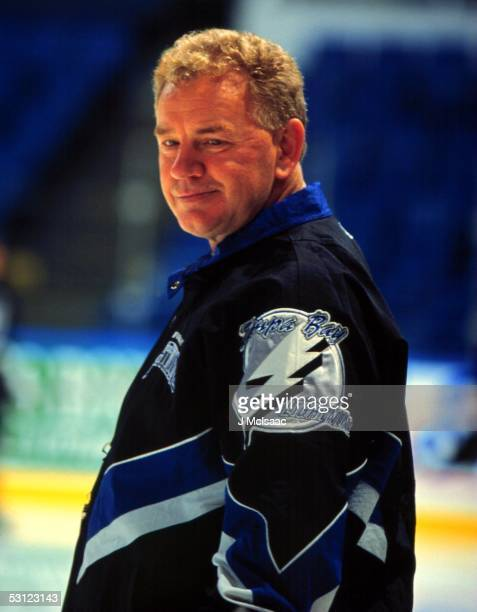 Tampa Bay Lightning coach Terry Crisp