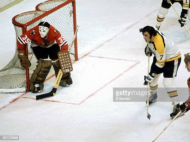 The Esposito brothers during their playing days And Player Phil Esposito