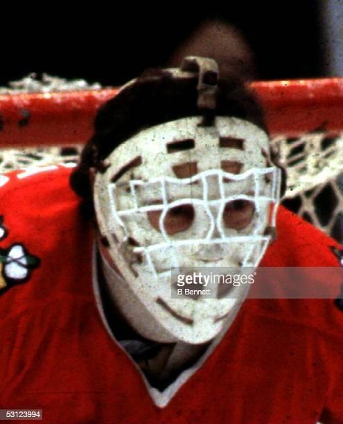 Tony Esposito's famous mask