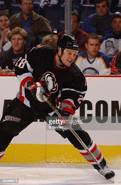 Toronto Maple Leafs at Buffalo Sabres October 30 2003 And Player Jason Botterill