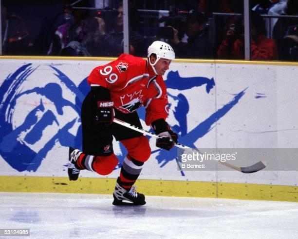 Wayne Gretzky at the 1998 Olympics