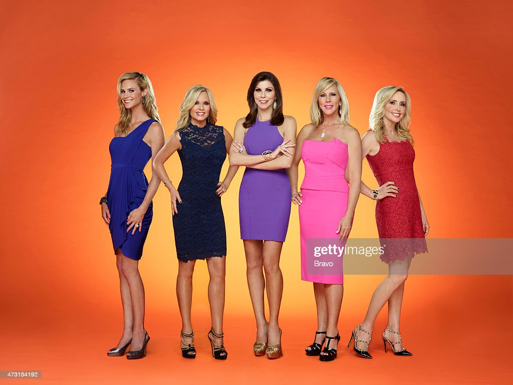10 -- Pictured: (l-r) Shannon Beador, Tamra Judge, Heather Dubrow, Vicki Gunvalson, Meghan Edmonds --
