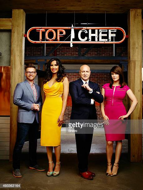 13 Pictured Richard Blais Padma Lakshmi Tom Colicchio Gail Simmons