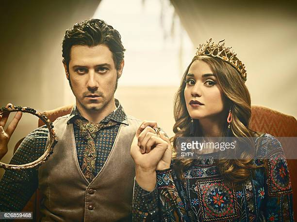 2 Pictured Hale Appleman as Eliot Summer Bishil as Margo