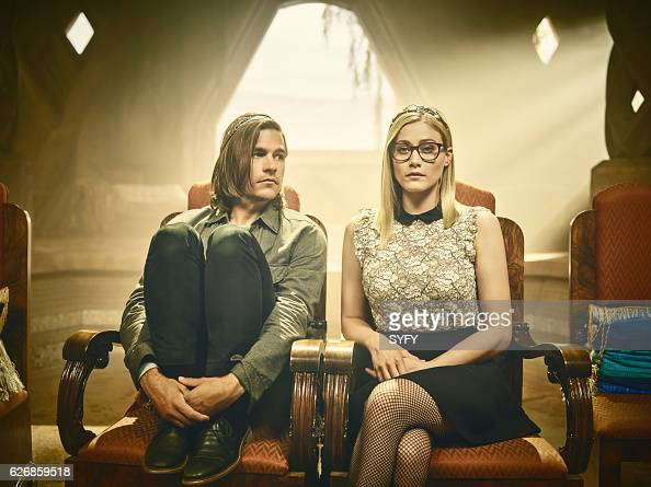 2 Pictured Jason Ralph as Eliot Olivia Taylor Dudley as Alice