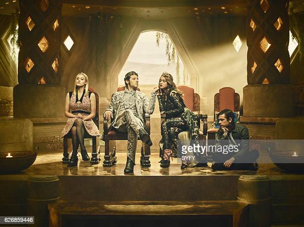 2 Pictured Olivia Taylor Dudley as Alice Hale Appleman as Eliot Summer Bishil as Margo Jason Ralph as Quentin