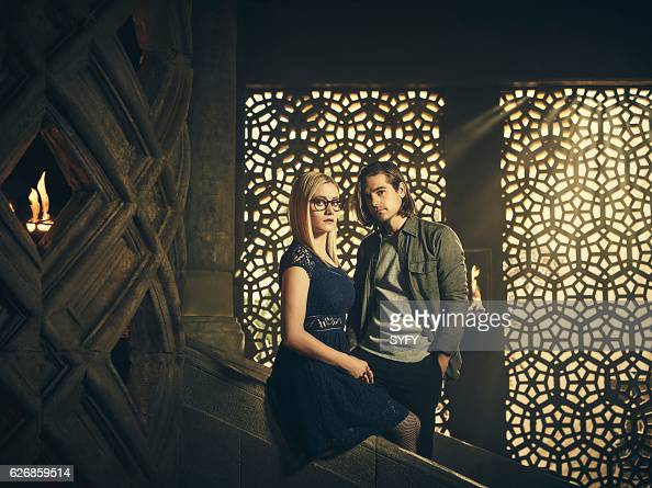 2 Pictured Olivia Taylor Dudley as Alice Jason Ralph as Quentin