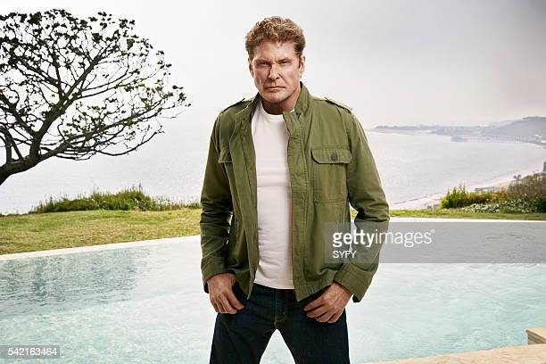 2016 Pictured David Hasselhoff as Gil Shepard