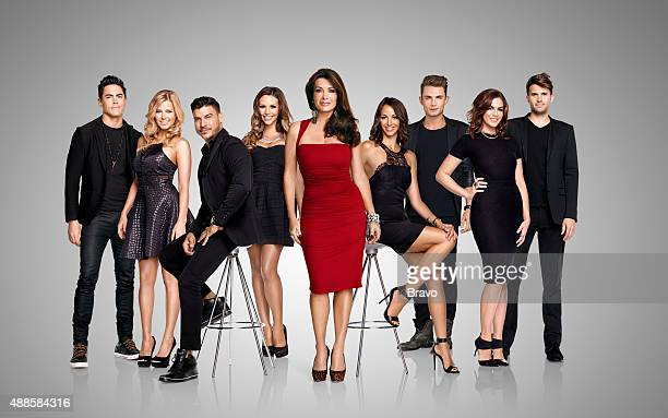 3 Pictured Tom Sandoval Ariana Madix Jax Taylor Scheana Marie Lisa Vanderpump Kristen Doute James Kennedy Katie Maloney Tom Schwartz