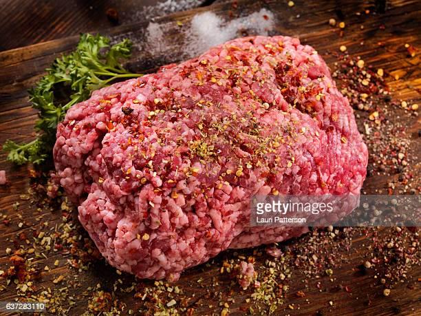 Seasoning 100% Raw Ground Lamb