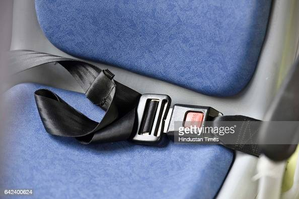 Seat belt for every seat in 100 new cluster buses at Delhi Secretariat on February 17 2017 in New Delhi India