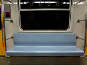 Seat inside subway
