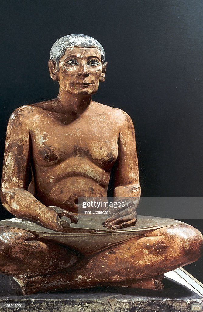 khafre vs seated scribe Date class assignment lecture topic/notes homework first term/1st quarter seated scribe king menkaura and queen wall plaque, from oba's palace great pyramids.
