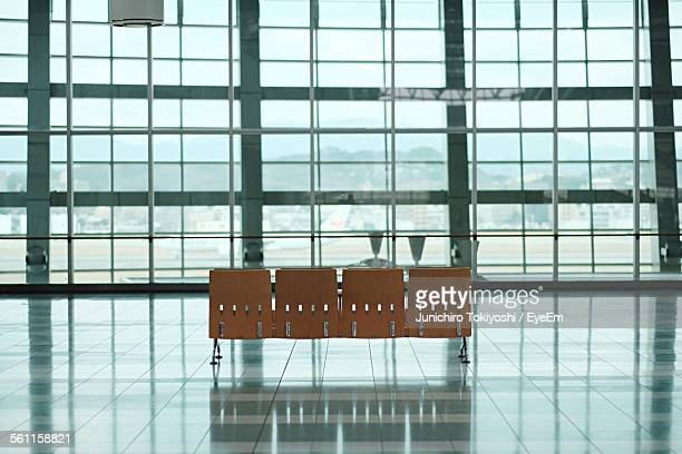 Seats In An Airport Lobby