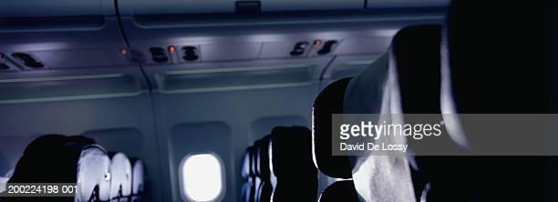 Seats in passenger aeroplane