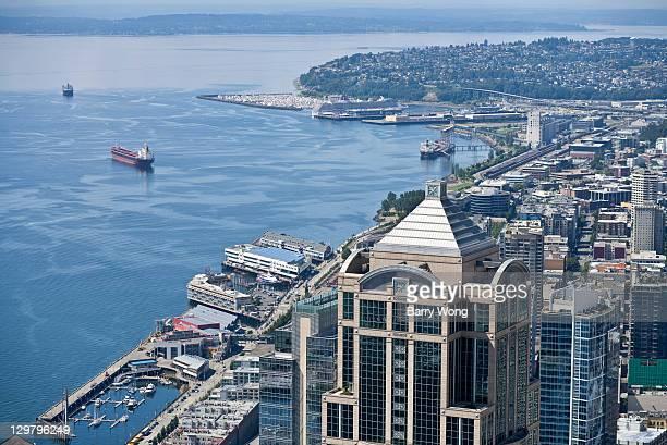 Seattle and Elliott Bay