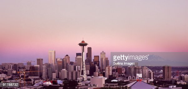 Seattle Cty Scape : Stock-Foto