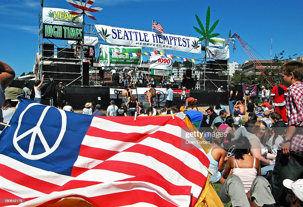 CONTENT] Seattle HempFest in August 2006, a 1960s-style love-in for all things hemp and marijuana at a waterfront park near downtown. Lots of people, pipes and bongs, hemp-seed brownies, hemp clothing, music and the politics of marijuana legalization -- mixed with sun and the occasional whiff of cannibis, despite the heavy police presence.