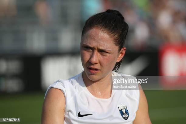 Seattle Reign FC defender Kiersten Dallstream before an NWSL match between the Seattle Reign FC and FC Kansas City on June 17 2017 at Children's...
