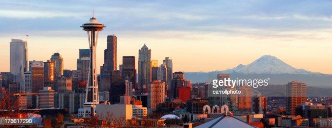 Seattle Skyline - Panorama