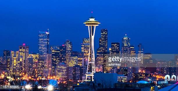 シアトルの街並み