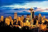 Seattle Skyline Study