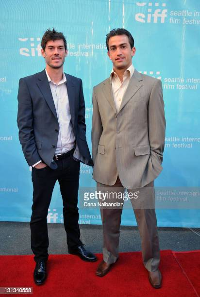 Seattle Sounders midfielder Brad Evans and goalie Patrick Ianni attend the opening night gala screening of 'The First Grader' during the Seattle...