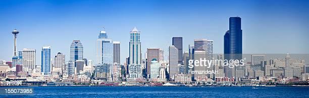 panorama de Seattle waterfront