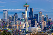 Seattle's Space Needle and the downtown skyline