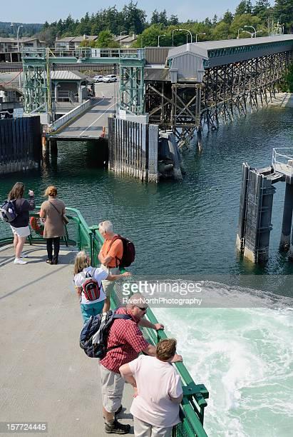 Seattle-Winslow Ferry, Seattle Washington