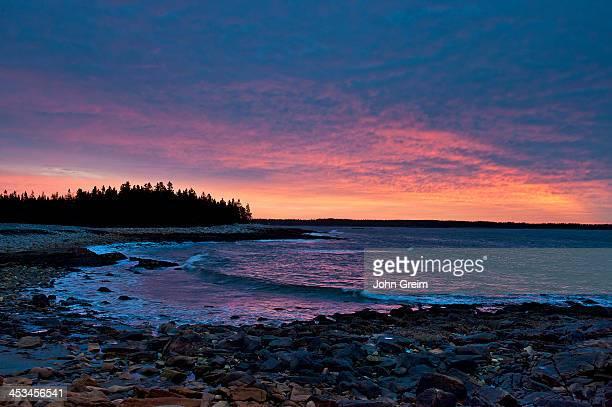 Seawall Beach in Acadia National Park