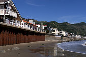 Seawalls protect seaside homes along Faria Beach north of Ventura in Ventura County Ventura County is home to the state s most armored coast with 65%...