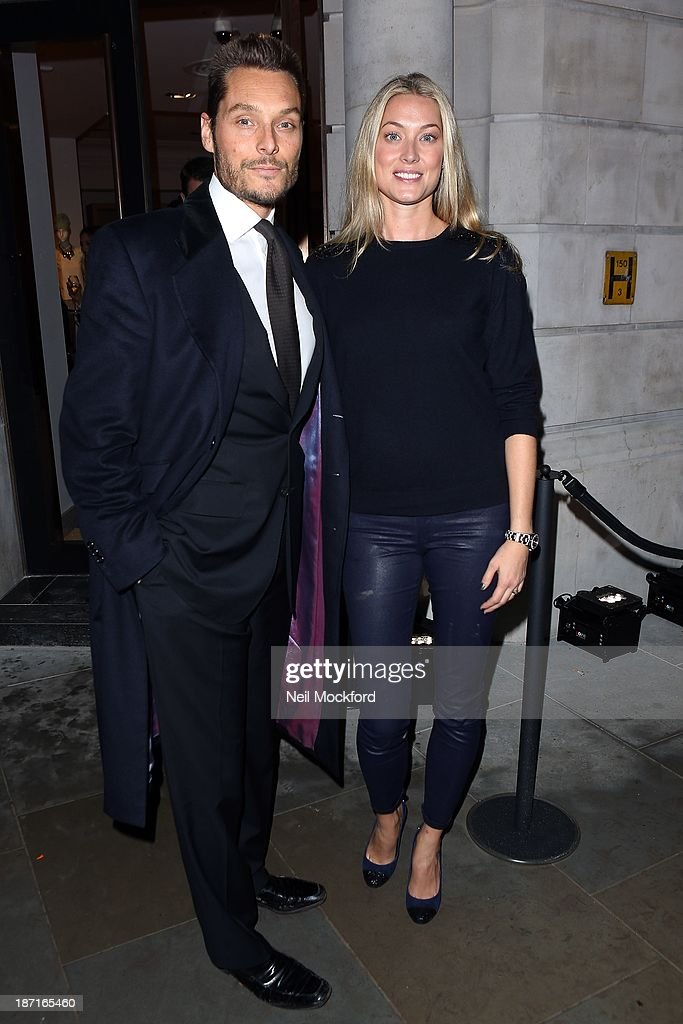 Seb Bishop and Heidi Bishop at the UK flagship store launch of J. Crew on November 6, 2013 in London, England.