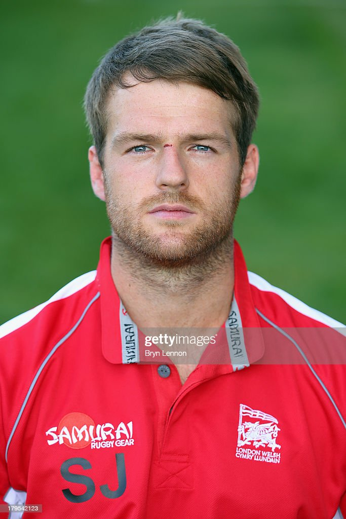 Seb Jewell of London Welsh poses for a portrait during a London Welsh Media Day at Kassam Stadium on September 4, 2013 in Oxford, England.