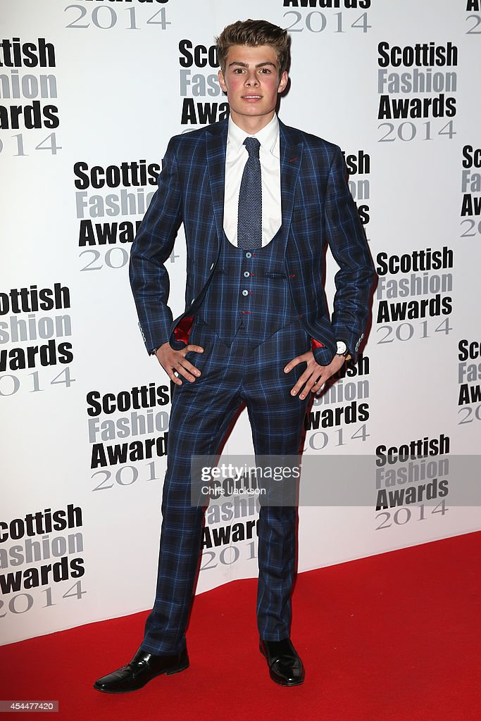 Seb Morris attends The Scottish Fashion Awards on September 1, 2014 in London, England.