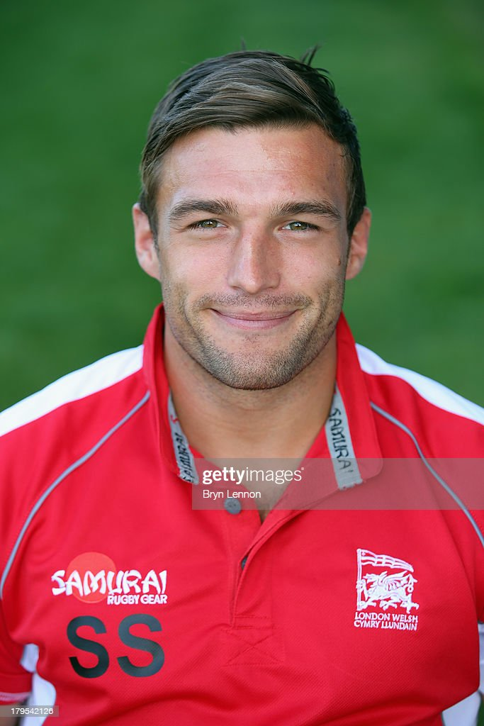 Seb Stegmann of London Welsh poses for a portrait during a London Welsh Media Day at Kassam Stadium on September 4, 2013 in Oxford, England.