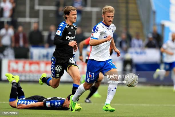 Sebastian Andersson of IFK Norrkoping during the Allsvenskan match between IFK Norrkoping and IFK Goteborg on June 4 2017 at Ostgotaporten in...