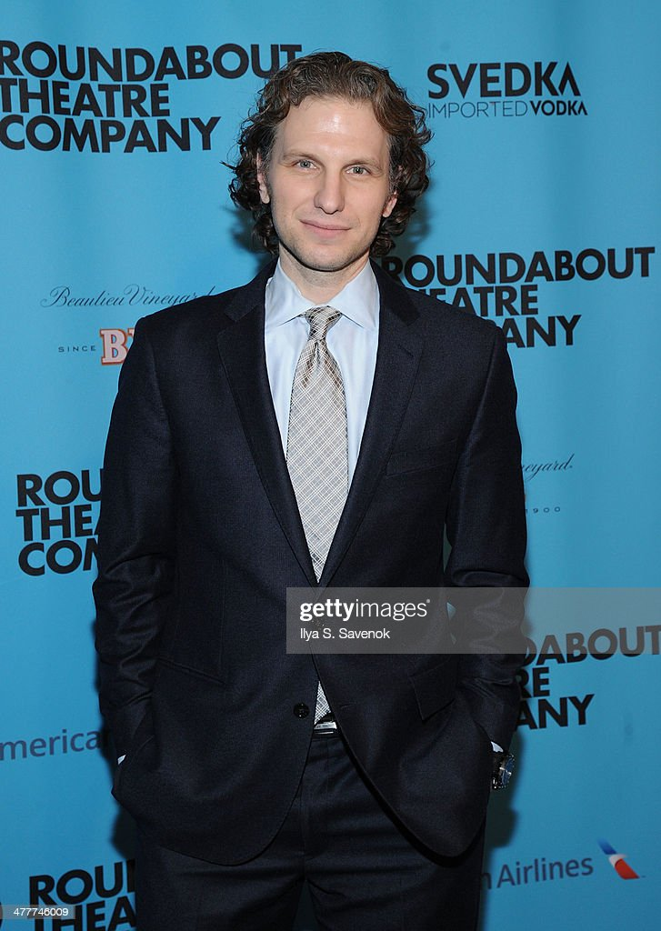 Sebastian Arcelus attends Roundabout Theatre Company's 2014 Spring Gala at Hammerstein Ballroom on March 10, 2014 in New York City.