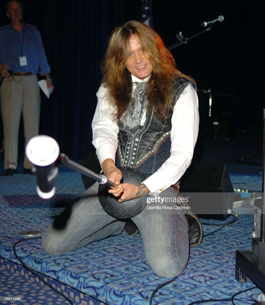 Sebastian Bach at the Marriott Marquis in New York City, New York
