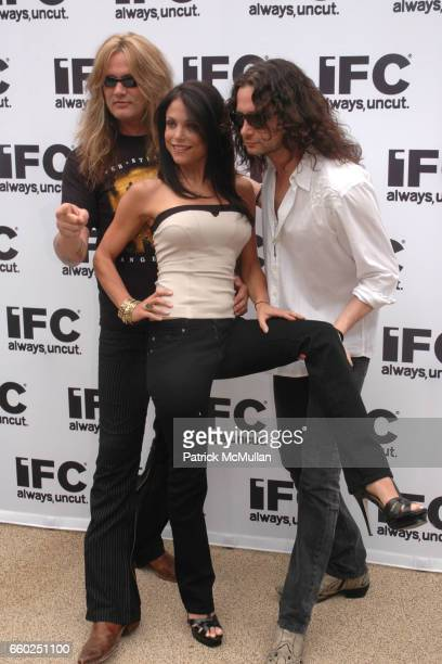 Sebastian Bach Bethenny Frankel and Constantine Maroulis attend IFC CELEBRATES SEASON 2 OF ROCK WITH AMERICA'S HOTTEST ROCKER MOM CONTEST at Madison...
