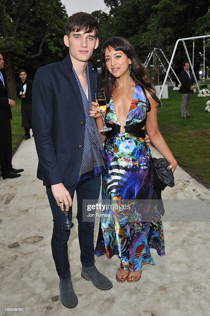 Sebastian Brice and Natalie Palmer attend The Serpentine Gallery Summer Party on June 28, 2011 in London, England.