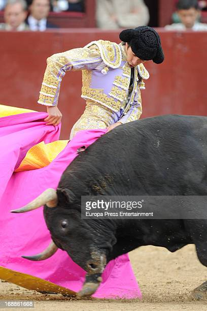 Sebastian Castella peforms during San Isidro Bullfight 2012 at Las Ventas bullring on May 15 2013 in Madrid Spain